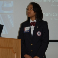 HOSA State Officer President- Diamond Higgin